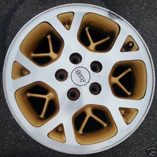 16 96 97 98 Jeep Grand Cherokee Alloy Wheel Rim Gold