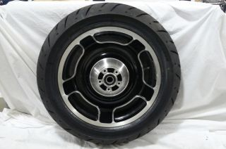 Harley Davidson Touring Stock Mag Wheels Tires Used Great Shape 10 13