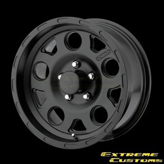 15 x7 XD Series XD122 Enduro Matte Black 5 6 8 Lug Wheels Rims Free