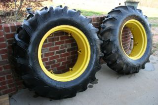 Firestone 14 9 28 Tractor Tires John Deere Wheels