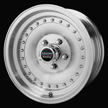 14 inch American Racing 14X7 Wheels Rims Early General Motors 5x4 75