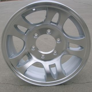 Aluminum Type T03 Trailer Wheels Rims 6 Lug on 5 5 Split Spoke