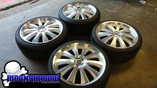 RARE Lowenhart LE1 Sportline 21 Staggered Wheels Rims Chevy Camaro