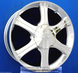 Infiniti I 35 17 inch Chrome Wheel Exchange I35 Rims OE