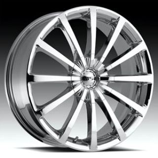 MSR 042 Wheels Rims Chrome 20 Infiniti Lexus VW