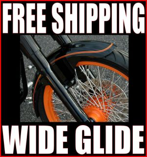 West Coast Choppers WCC 21 Wheel 4 5 Wide Front Fender Harley Bobber