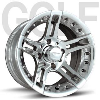 Fairway Alloys Edge Wheels 12 23x10 5 12 Golf Tires 4 EZGO Club Car