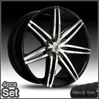 26 Lexani Wheels and Tires Chevy Escalade Ford 5 and 6 Lug Rims