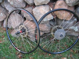 26 Mountain Bike Wheels DT 240 Hubs DT XR4 1D Rims XTR Cassette