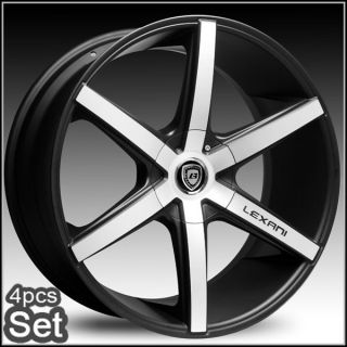 26inch Lexani R Six Wheels Rims Chevy Escalade Ford 5 and 6 Lug