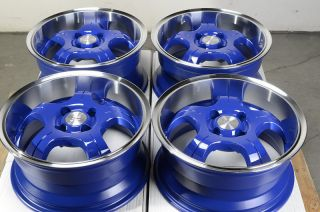 Low Offset 25 4 Lug Wheels Del Sol Integra Honda Civic CRX Rims