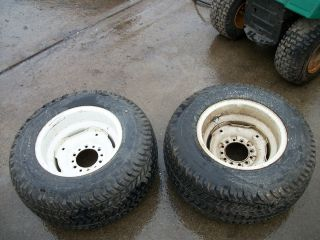 Ford Lgt 195 Rear Rims and Tires 29x12 00 15