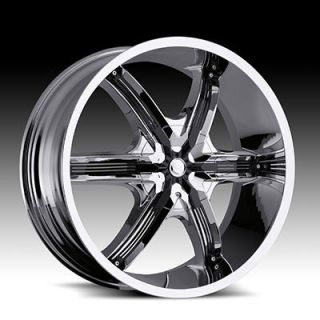 26 460 Bel Air Chrome Milani Wheels TIRES305 30 26 Fit Chevy Ford