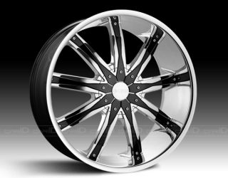 30 inch Dcenti DW29 Wheels rims& fit Chevy Cadillac GMC Nissan Ford