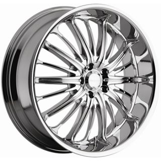 28x10 Chrome Akuza Belle Wheels 5x4 75 Rims