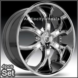 24inch Rims Wheels Chevy Ford RAM Lexani Escalade