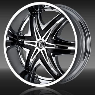 30 Diablo Wheels Elite Chrome Rim 255 30 30 Tires Escalade Navigator