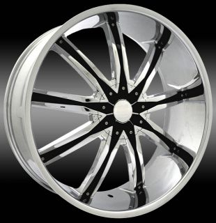 24 Chrome Wheels DW29 Chevy Camaro V6 V8 SS New Styles Call 877 955