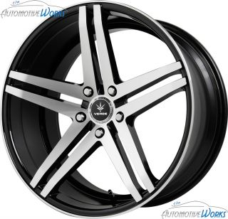 Verde Parallax 5x112 30mm Gloss Black Wheels Rims inch 19