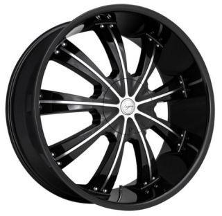 24 inch Land Range Rover HSE Black Wheels Rims 5x120