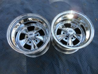 New Cragar SS 15x10 Std Offset Multi Lug Chevy Ford Dodge Buick Olds