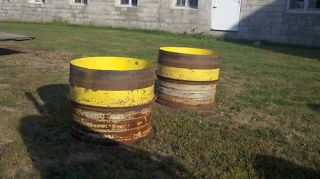 John Deere 15x34 Dually Rims
