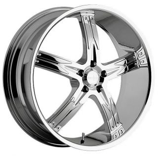 762 FLAWLESS 5X115 AUDI MERCEDES PASSAT CHROME WHEELS RIMS FREE LUGS
