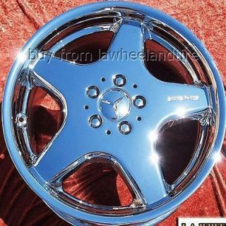 18 Mercedes Benz SL500 SL55 SL550 AMG Chrome Wheels Rims 65228