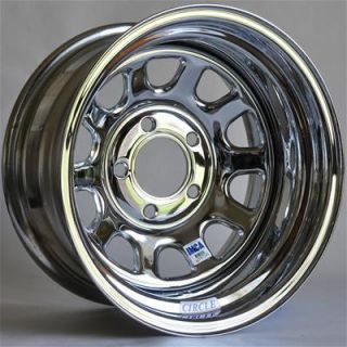 Circle Racing Wheels Series 27 Chrome Wheel 15x7 5x4 75 Set of 4
