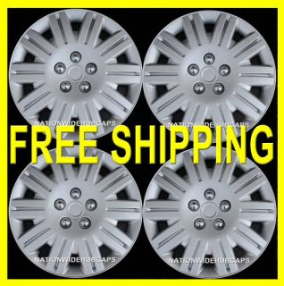 Caps Full Wheel Covers Rim Trim Cover Wheels Rims w Steel Clips