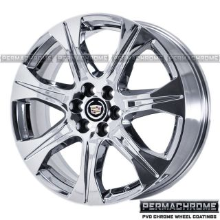 Original Cadillac SRX 20 Chrome Wheels Rims 4667 Permachrome