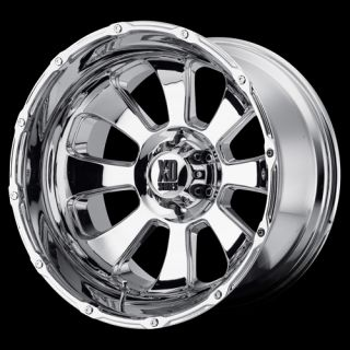 ARMOUR 8X6 5 AVALANCHE SUBURBAN F250 CHROME WHEELS RIMS FREE LUGS