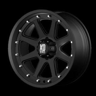 20 inch Black Rims 8 Lug Wheel Chevy GMC Truck