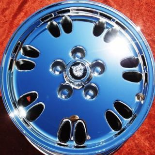 NEW JAGUAR XJ6 XJ XJS KIWI 16 OEM CHROME WHEELS RIMS EXCHANGE 59677