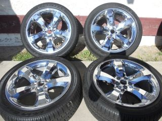 Dodge Challenger Chrome Clad Wheels and Tires Charger Chrysler