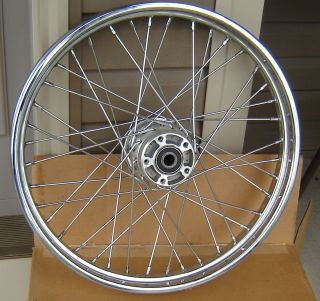 DAVIDSON 21 SOFTAIL DYNA 40 SPOKE LACED FRONT WHEEL RIM 43676 05