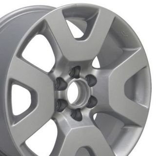 17 Rims Nissan Xterra 52522 Wheels Set of 4 Silver Rims 17x7 5 Set