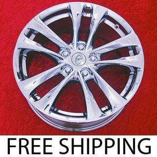 of 4 New 18 Infiniti FX35 / FX45 Factory OEM Chrome Wheels Rims 73713