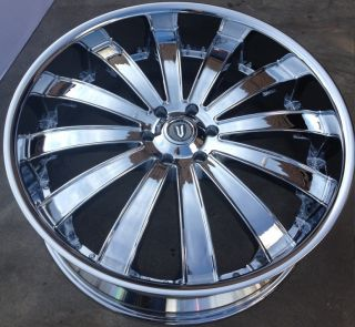 22 Versante 225 Wheels Rims Tires 5x115 Charger Chrysler 300 Magnum