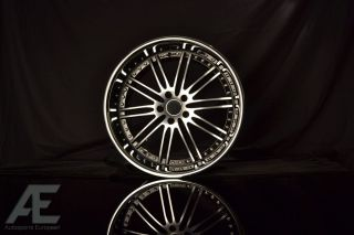 Infiniti G35 G37 M37 M35 M45 Wheels Rims Hennessey Diamond Cut