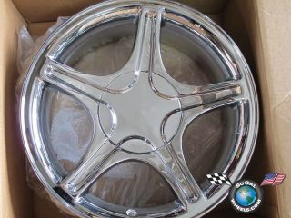 99 04 Ford Mustang Factory 17 Chrome Wheel OEM Rim 3307 YR33 1007 DA