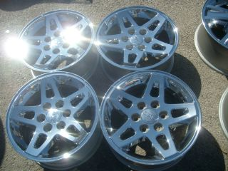 OEM GMC SIERRA YUKON DENALI Z71 18 CHROME OEM WHEELS 560 5366
