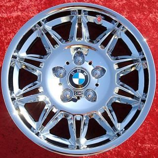 NEW 17 BMW M3 E36 OEM CHROME WHEELS RIMS Z3 325I 328I 330I E46 59300