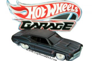 2011 Hot Wheels Garage Ford vs GM 70 Ford Torino
