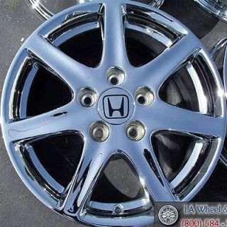 NEW 16 HONDA ACCORD OEM CHROME WHEELS RIMS ODYSSEY CIVIC PRELUDE 63858