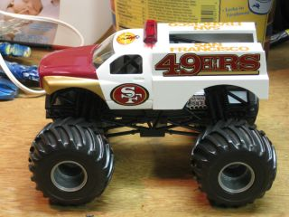 Hot Wheels Monster Jam Custom San Francisco 49ers Backdraft 1 24 scale
