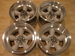 Torque Thrust 5 Spoke Rims Wheels 5x4 5 Ford Mustang Cougar