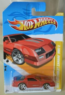 2012 Hot Wheels New Models # 22/50   1985 Chevrolet Camaro IROC  Z