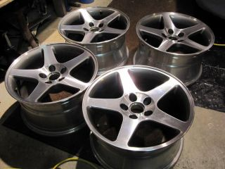 2003 2004 Ford Mustang SVT Cobra Rims Wheels Machined