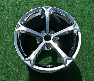 Brand New Genuine GM Factory Chrome Corvette Grand Sport Rear 19 Wheel